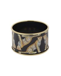 Halcyon Days | Gray Magnificent Wildlife Enamel Cuff | Lyst