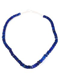 Dosa - Blue 'Dutch' Trading Bead Necklace - Lyst