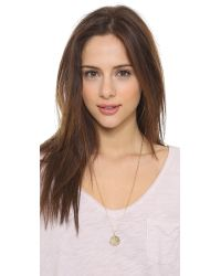 Phyllis + Rosie Metallic Cecile Necklace - Gold