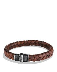 David Yurman - Metallic Frontier Bracelet In Brown for Men - Lyst