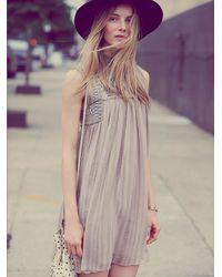 Free People Natural Womens Babylon Dress