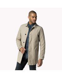 Tommy Hilfiger | Brown Cotton Blend Trenchcoat for Men | Lyst