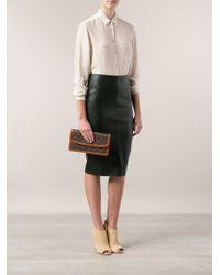 Louis Vuitton Brown Monogram Dame Clutch