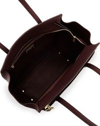 Ferragamo - Brown Amy Gancini Medium Tote Bag - Lyst
