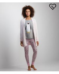 Live Love Dream | White Lld Sparkle Eyelash Duster Cardigan | Lyst