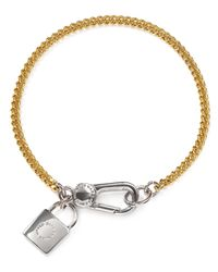 Marc By Marc Jacobs | Yellow Locked Up Bracelet | Lyst