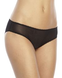 B.tempt'd | Black Natural Fancy That Contour Bra & B.Distinctive Bikini Panty | Lyst