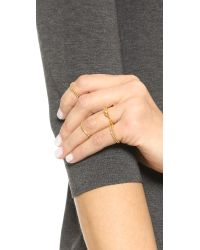 Gorjana - Metallic Joplin Ring Set - Lyst