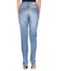 People - Blue (+) People Denim Trousers - Lyst