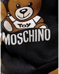 Moschino | Black Stole | Lyst