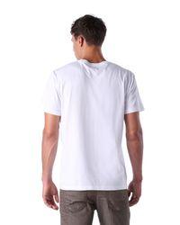 DIESEL - White T-leas for Men - Lyst