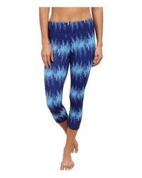 Under Armour | Blue Take A Chance Printed Capri | Lyst