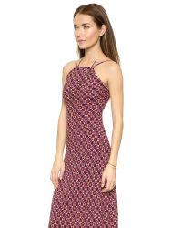 Flynn Skye - Purple Anastasia Maxi Dress - Sunburst - Lyst
