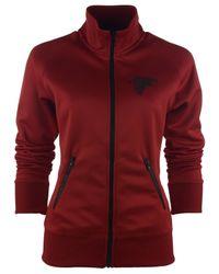 Nike Red Women'S Atlanta Falcons Mvp Track Jacket for men
