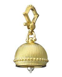 Paul Morelli - Metallic 18k #3 Plain Meditation Bell Pendant - Lyst