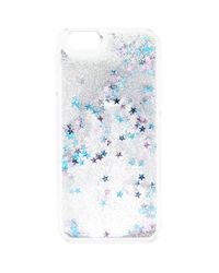Forever 21 Blue Glitter And Star Case For Iphone 6