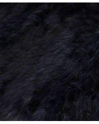 Yves Salomon - Purple Fur Snood - Lyst