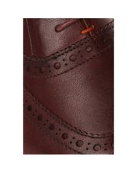 BOSS Orange | Brown Lace-up Shoes: 'volusel' In Leather for Men | Lyst