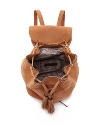 Rebecca Minkoff - Brown Moto Backpack - Lyst