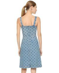 Stella McCartney | Blue Linda Denim Dress | Lyst