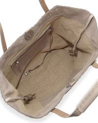 Henry Beguelin - Natural Woven Double-Handle Tote Bag - Lyst