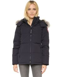 Canada Goose Gray Chelsea Down-filled Shell Parka Jacket