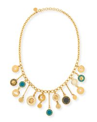 Marc By Marc Jacobs Metallic Stardust Charm Necklace