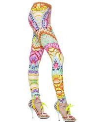 Manish Arora - Multicolor Printed Stretch Jersey Leggings - Lyst