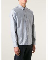 Soulland - Gray 'goldsmith' Shirt for Men - Lyst