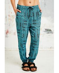 Urban Outfitters - Blue Palolem Beach Trousers - Lyst