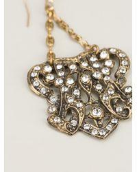 Lulu Frost | Metallic Crest Earrings | Lyst