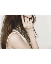 Jenny Bird Metallic Serpentwine Palm Cuff