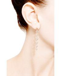 Dana Rebecca - Metallic Lisa Michelle Earrings in 14k Rose Gold - Lyst