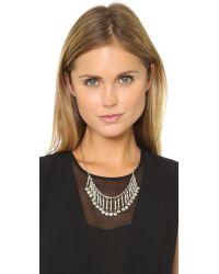 Vanessa Mooney - Metallic The Davies Necklace - Lyst