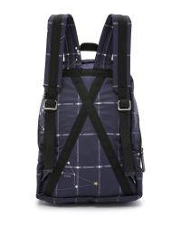 MSGM Blue Stars Backpack for men