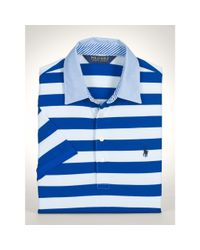 Ralph Lauren - Blue Tailored-fit Performance Polo for Men - Lyst