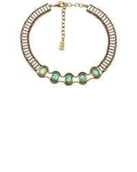 Lionette | Green Rothchild Choker Necklace | Lyst
