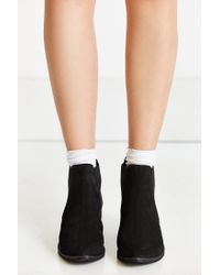 Urban Outfitters Black August Pointy Toe Chelsea Boot