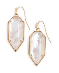 Kendra Scott | Pink 'palmer' Drop Earrings | Lyst