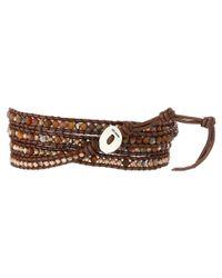 Chan Luu - Brown 32' Pietersite Mix Wrap Bracelet - Lyst