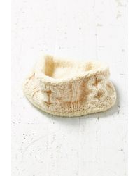 Urban Outfitters | White Cozy Cable Knit Earwarmer | Lyst