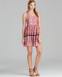 MINKPINK - Multicolor Dress Tile Printed - Lyst