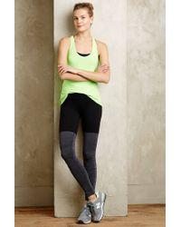 Beyond Yoga | Gray Ruched Performance Leggings | Lyst