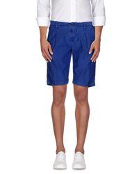 Myths - Blue Bermuda Shorts for Men - Lyst