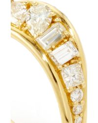 Fernando Jorge | Metallic Stream Wave Ring In Diamonds | Lyst