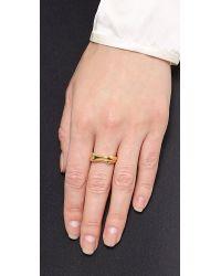 Aurelie Bidermann - Metallic Body Ring - Lyst