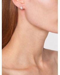 Anita Ko | Metallic 18kt Opal And Diamond Studs | Lyst