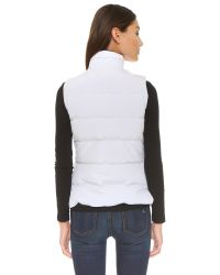 Canada Goose - White Freestyle Vest - Lyst