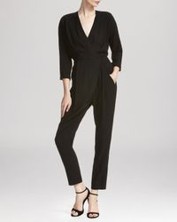 Whistles Black Jumpsuit - Eliza Crossover