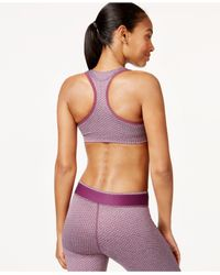 PUMA | Purple Printed Drycell Sports Bra | Lyst